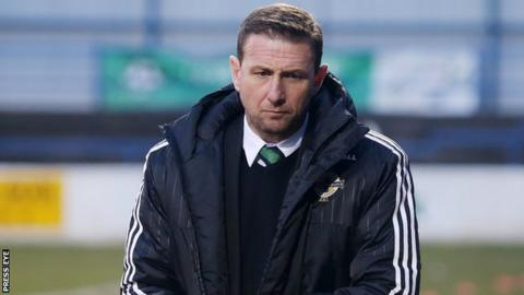 Ian Baraclough's Under-21s face Spain in Albacete on Tuesday