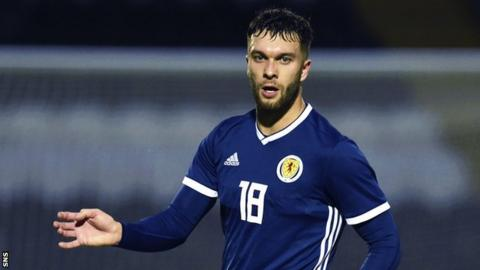 Scotland Under-21 forward Connor McLennan