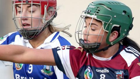 Shannon Graham was on target twice for Slaughtneil