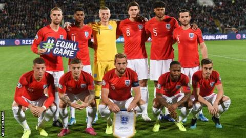England squad photo