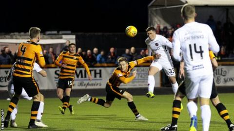 Dundee United threw away the lead to go down 2-1 at Alloa