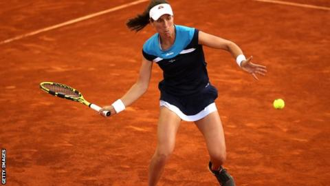 Madrid Open: Johanna Konta opens with win over Alison Riske