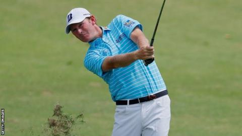 Snedeker holds lead after day two at Wyndham following historic first round