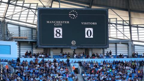 Manchester City 8-0 Watford