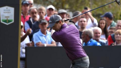 Strong finish from Fitzpatrick sees him keep Italian Open lead