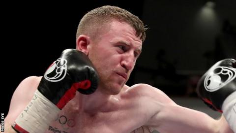 Paddy Barnes made it four wins out of four since turning professional