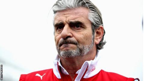 Maurizio Arrivabene of Ferrari