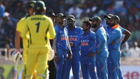 India v Australia ODI
