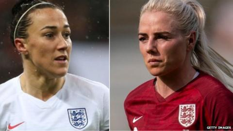 Lucy Bronze and Alex Greenwood