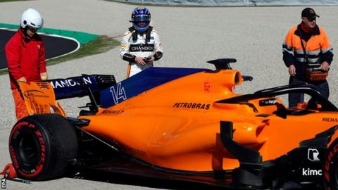 McLaren's Alonso