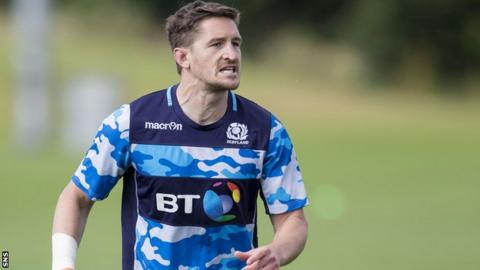 Henry Pyrgos in training for Scotland