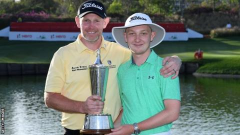 Gallacher ends five-year wait with Indian Open golf title