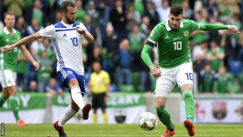 Nations League: Kyle Lafferty rules himself out of Northern Ireland's upcoming games