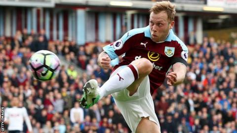 Scott Arfield is nearing the end of a five-year spell at Turf Moor