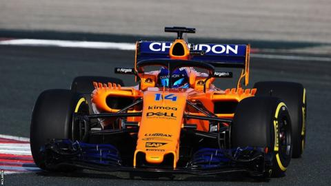 McLaren were last to unveil their papaya orange MCL33