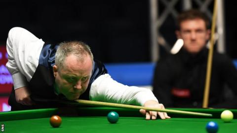 John Higgins was the beaten finalist at the 2016 Scottish Open