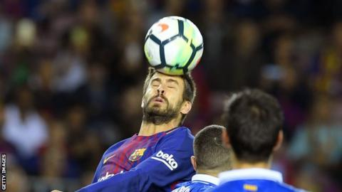 Gerard Pique: Defender signs Barcelona contract extension
