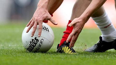 Ballinascreen ended Greenlough's hopes of winning the John McLaughlin Cup in the Derry SFC quarter-final game at Dungiven