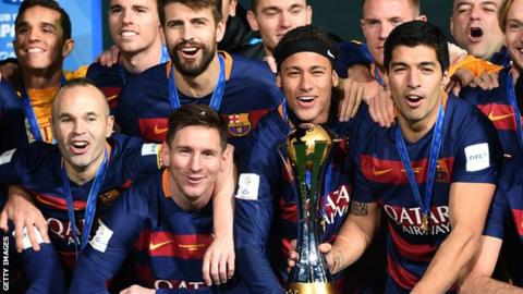 Barcelona lifted the 2015 Club World Cup