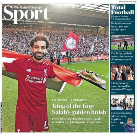 Monday's Telegraph