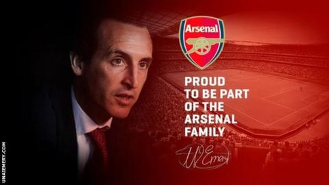 Unai Emery screengrab