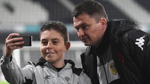 Paul Heckingbottom poses for a picture