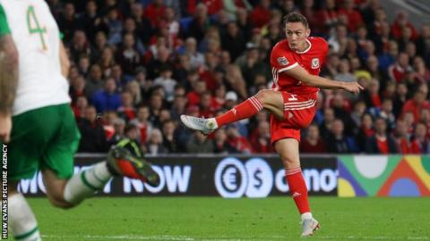 Connor Roberts scored his first Wales goal in September's 4-1 Nations League win over the Republic of Ireland