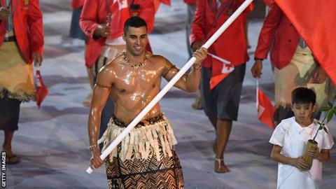 Tonga's Pita Taufatofua