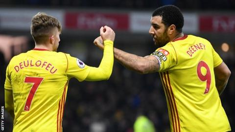 Deulofeu double gives Watford 2-1 win at Huddersfield