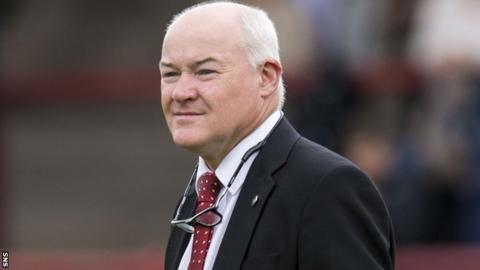 Brechin City chairman Ken Ferguson