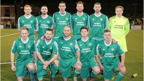 Amateur League team Crumlin Star's hopes of an appearance in the Steel Cup decider were dashed by Linfield Swifts