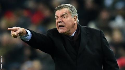 Allardyce delivers verdict on Bruce