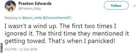 Preston Edwards tweet