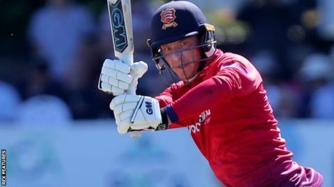 Essex batsman Tom Westley