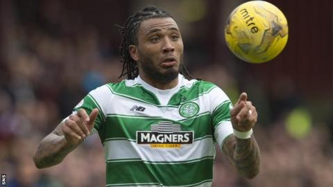 Colin Kazim-Richards in action for Celtic