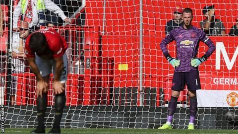 David de Gea, Harry Maguire, Manchester United