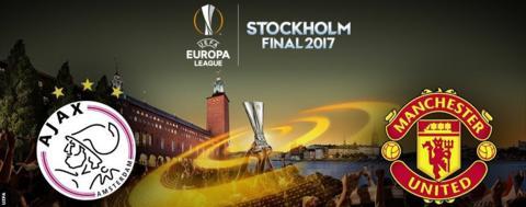 Europa League final: Ajax v Man Utd
