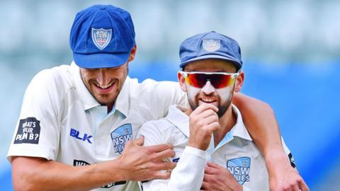 Mitchell Starc and Nathan Lyon
