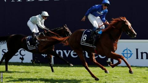 Masar wins the Derby at Epsom