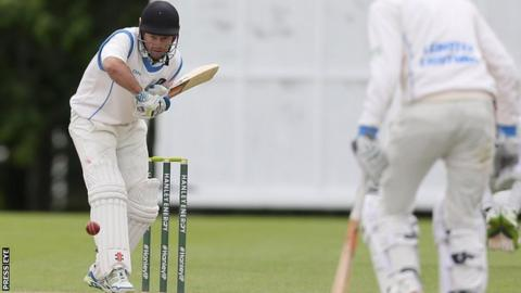 Lightning opener Ed Joyce was bowled for just 13 in his first Inter-Provincial Championship match