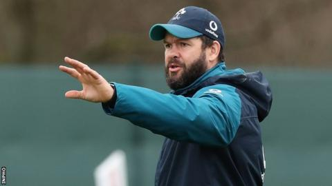 Andy Farrell joined the Ireland set-up in April 2016 as defence coach
