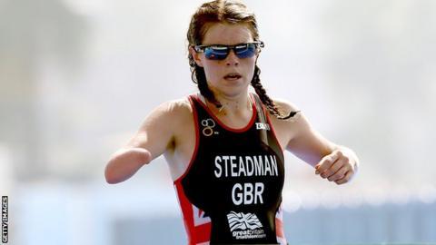 GB Paratriathlete Lauren Steadman