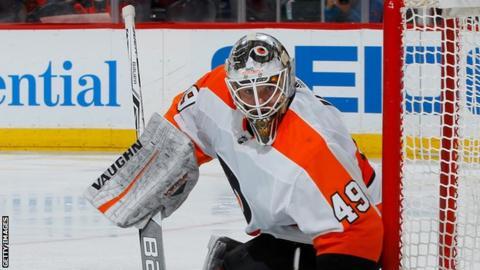 Goalie Makes 94 Saves In Longest Game in AHL History
