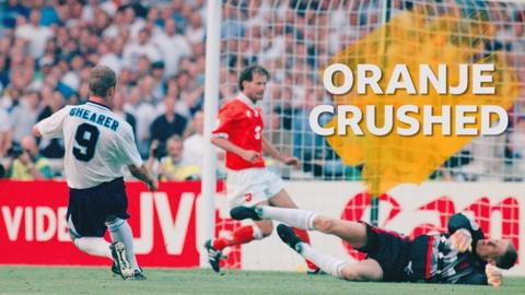 England v Netherlands 1996