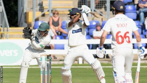 West Indies opener Kraigg Brathwaite signed for the end of Glamorgan's Championship season.
