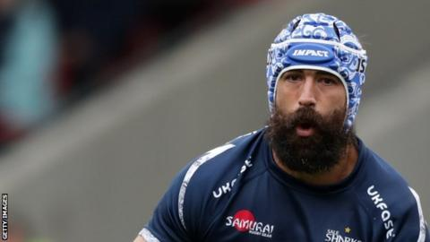 Josh Strauss scored five tries during his time with Sale Sharks