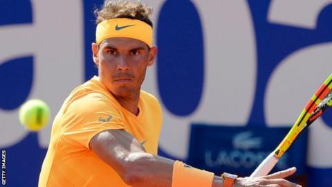 Rafael Nadal eases into the Barcelona Open semi-finals