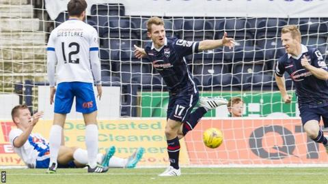 Kilmarnock were stunned by four first-half goals on Saturday