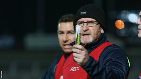 Armagh Under-20 manager Peter McDonnell has indicated they may lodge an appeal against the bans