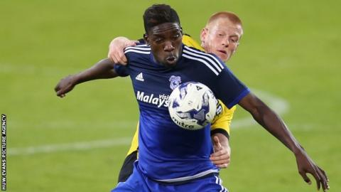 Sammy Ameobi has arrived at Cardiff City on a season's loan from Newcastle United